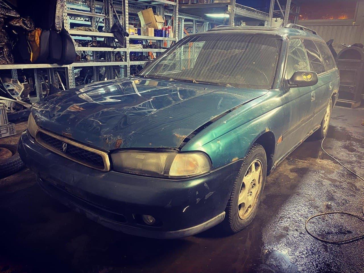В разборе Subaru Legacy 1997 2.2 AT