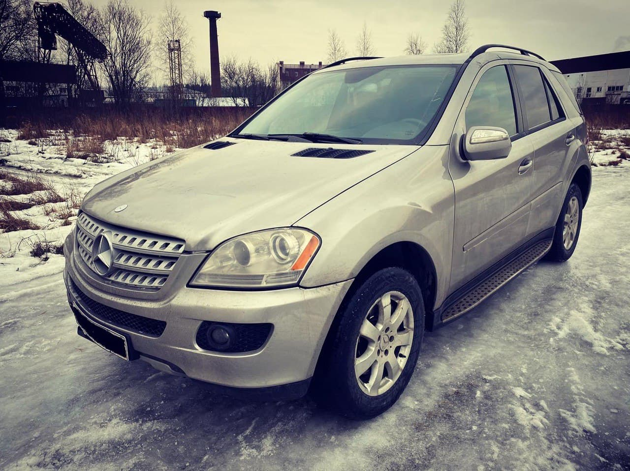 В разборе Mercedes-Benz ML350 W164 2005 3.5