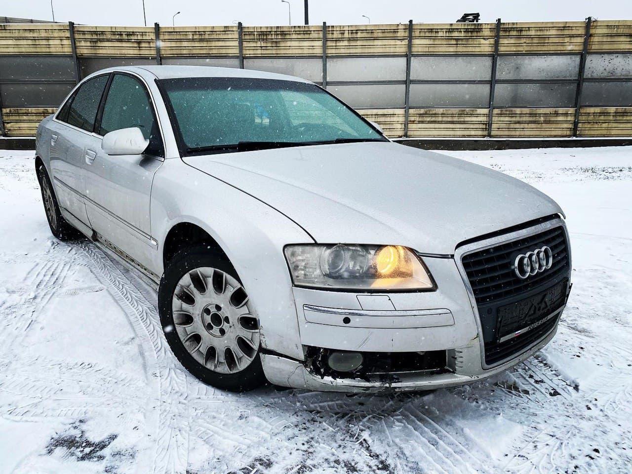 В разборе Audi A8 2007 3.2